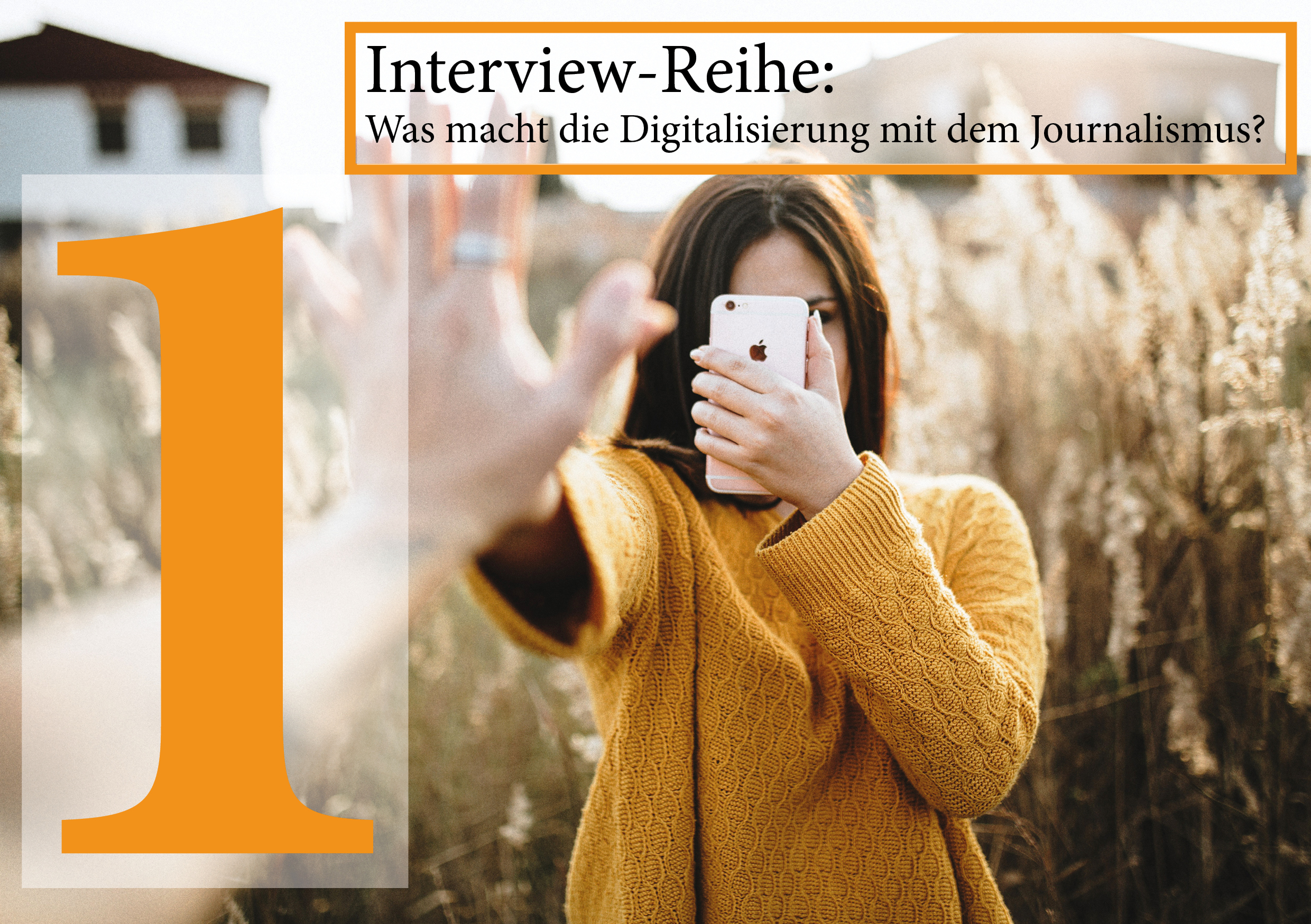 Interviews Digitalisierung Journalismus