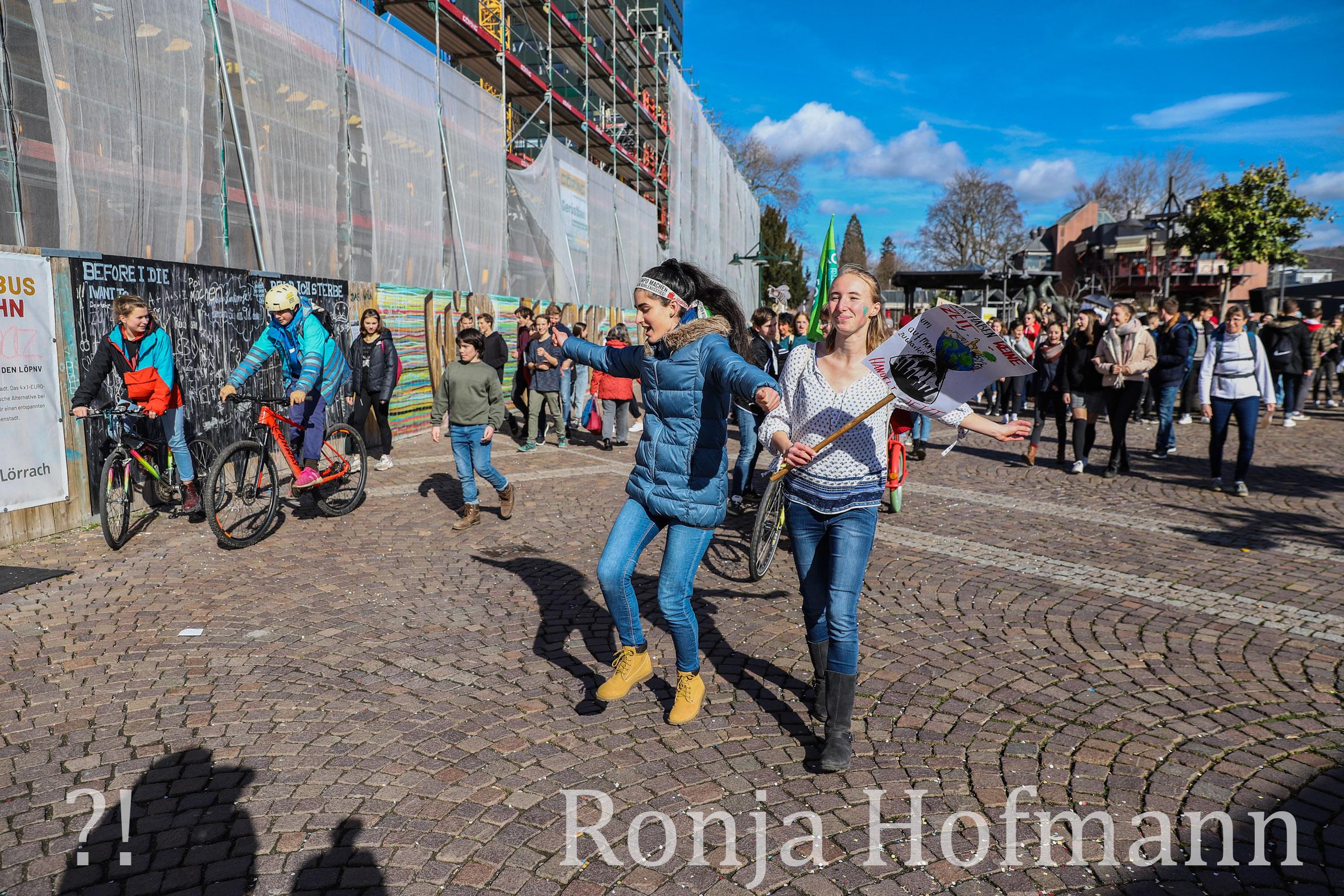 Aktivistin Ronja Hofmann - Foto: Kristoff Meller/Die Oberbadische