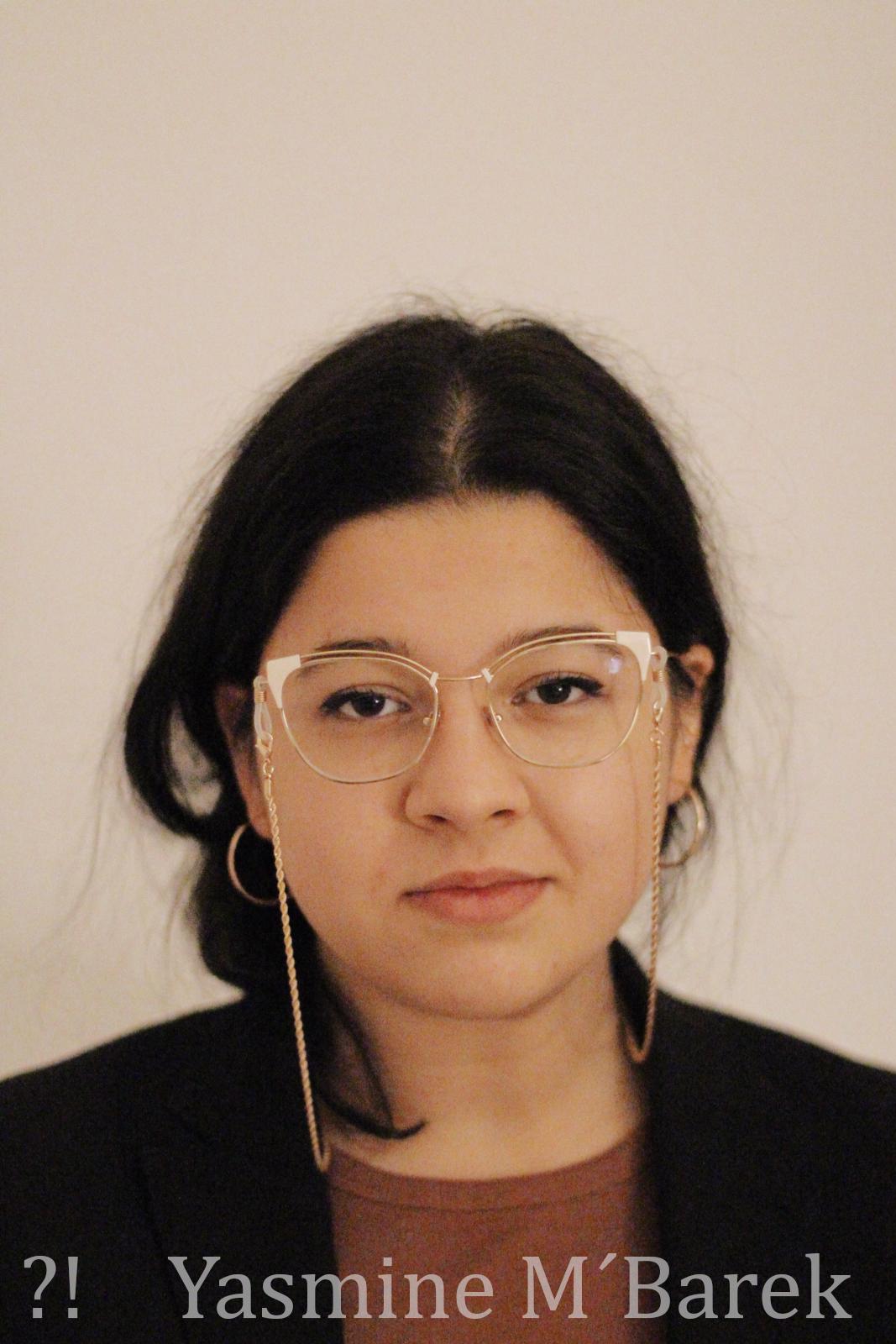 Journalistin Yasmine M´Barek